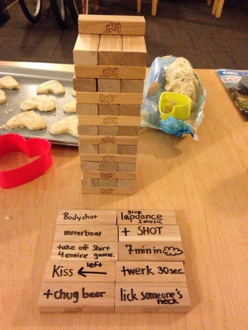 sexy times,funny,jenga,games,Party