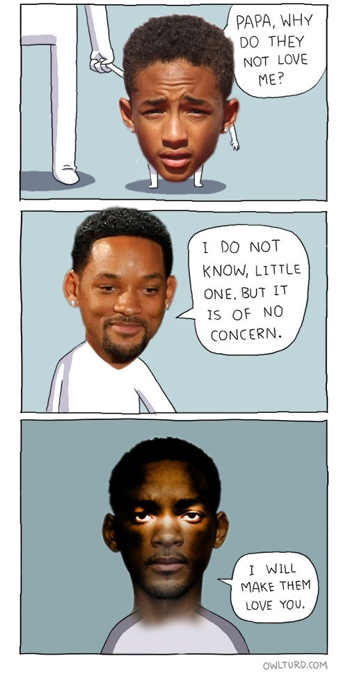 jaden pinkett smith,will smith,web comics