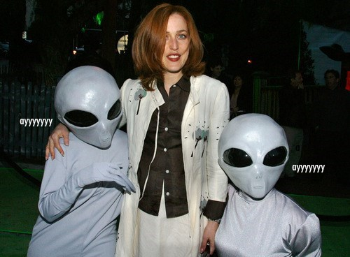 Aliens gillian anderson x files dana scully - 8002475520