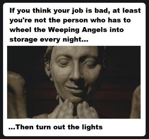 weeping angels doctor who - 8002507776