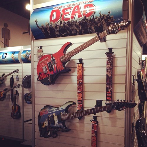 guitars,CES,The Walking Dead