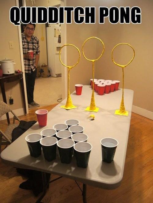 Harry Potter beer pong parties quidditch - 8002590976