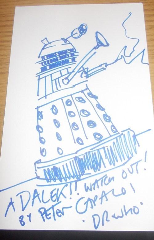 Peter Capaldi daleks doctor who - 8002645760