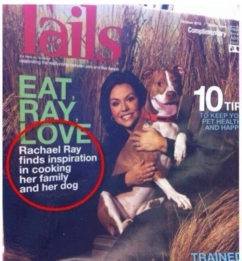 oxford comma commas Rachael Ray