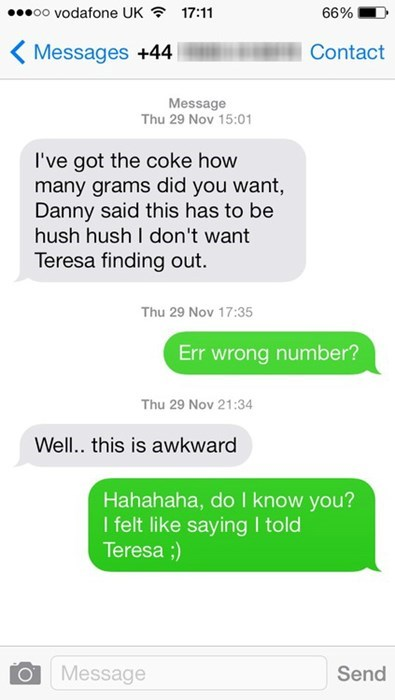 wrong number,wtf,Awkward,dating,g rated,AutocoWrecks