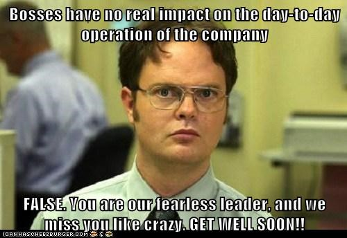 Bosses Have No Real Impact On The Day To Day Operation Of