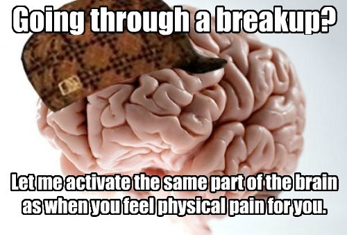 scumbag brain,relationships,heartache
