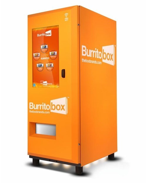 burrito vending machine food - 8002866688