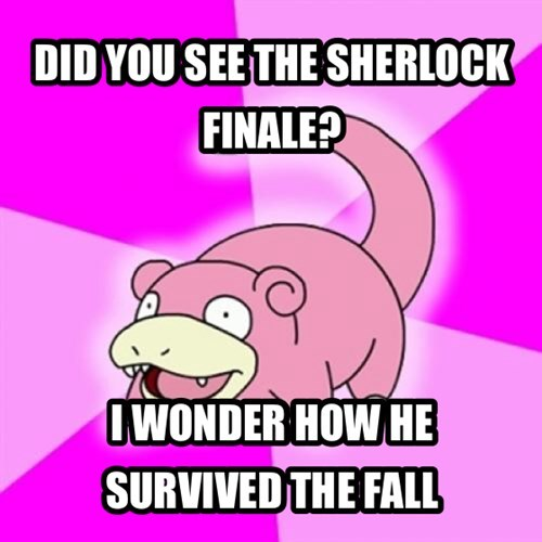 DID YOU SEE THE SHERLOCK FINALE?