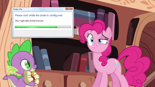spike,updates,installing,pinkie pie