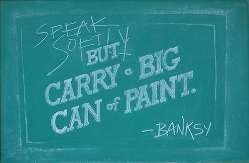 quotes,design,chalk art,hacked irl