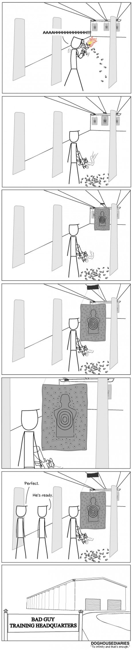 guns bad guys sad but true web comics - 8003580928