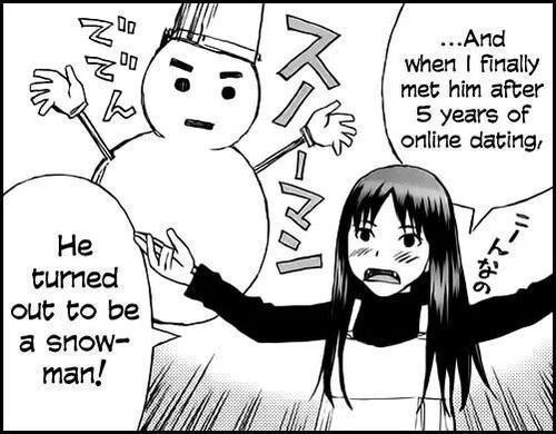dating manga sad but true snowmen web comics