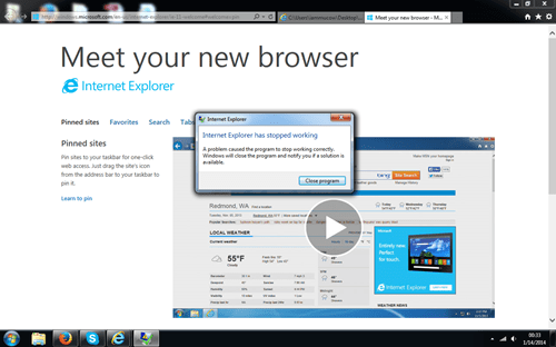internet explorer browser wars
