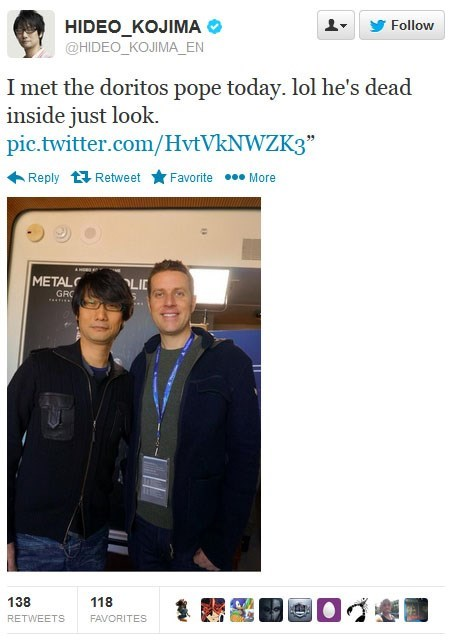 video games personalities geoff keighley hideo kojima - 8003856640