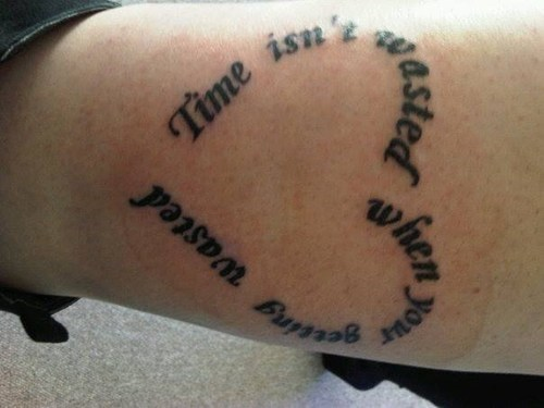 grammar tattoos hearts