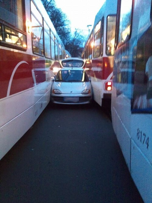 cars bus commute ouch