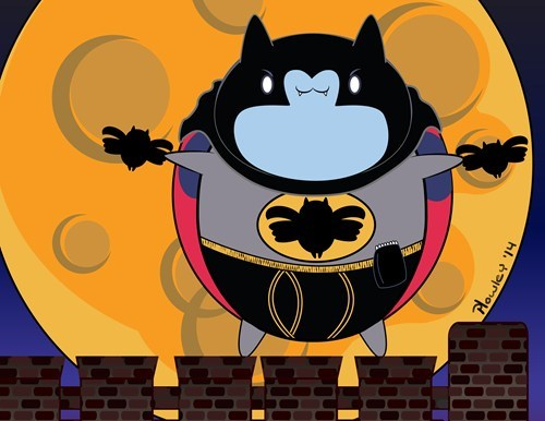 crossover bravest warriors batman cartoons catbug - 8004292352