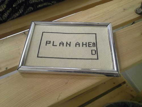 Knitta Please,needlepoint,planning