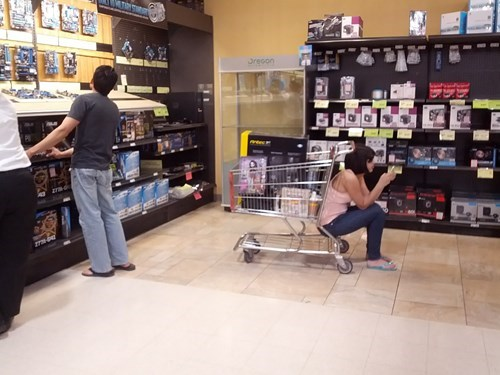 shopping,men vs women