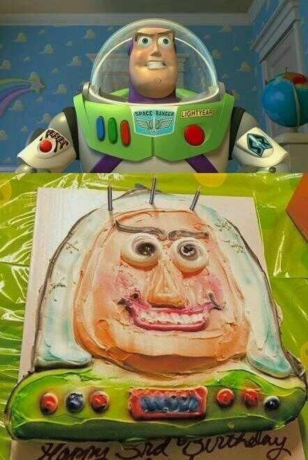 cake toy story expectations vs reality Nailed It fail nation g rated - 8004349440