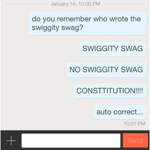 autocorrect constitution swag text g rated AutocoWrecks - 8004454144
