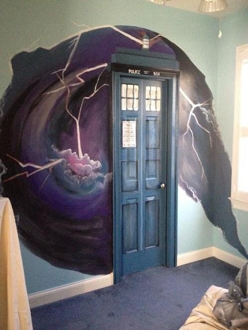 Fan Art tardis doctor who - 8004632064