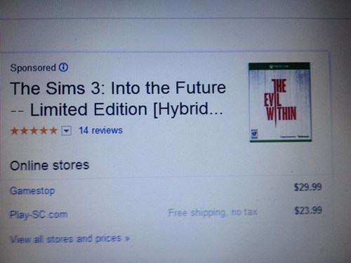 the evil within,The Sims