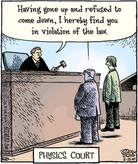 comics physics law funny science - 8005528064