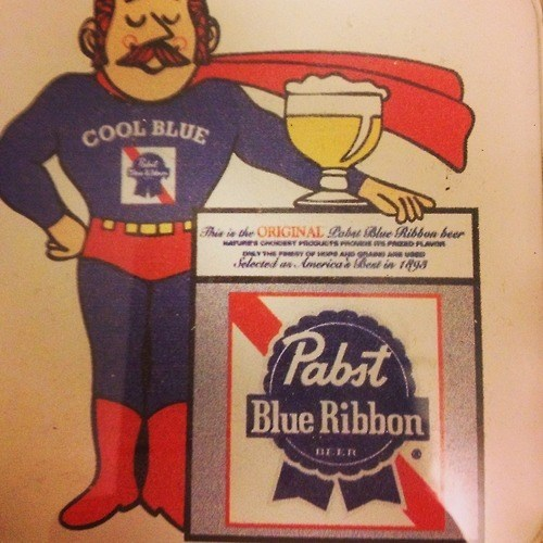 beer ads funny superhero pbr cool blue - 8005555968