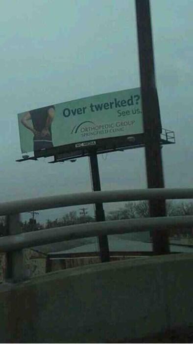 billboards twerking overtwerked monday thru friday g rated - 8005581056