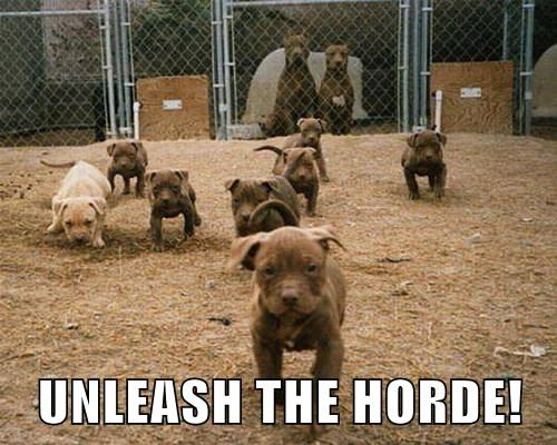 UNLEASH THE HORDE!