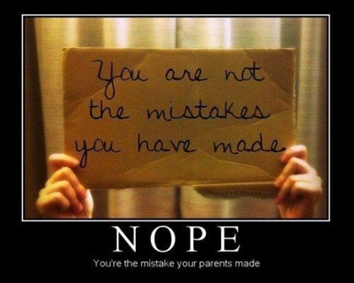 funny nope mistakes parents