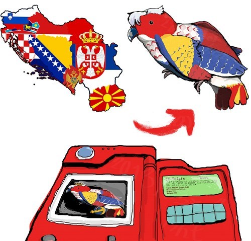 Pokémon pokedex yugoslavia - 8005642752