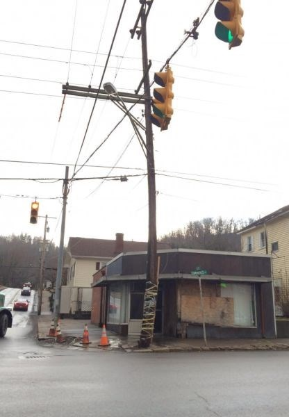 there I fixed it,utility poles