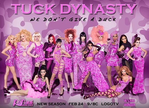 drag race rupaul puns duck dynasty