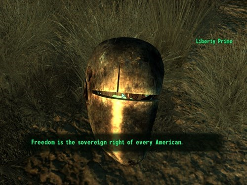 video games fallout liberty prime - 8005877248