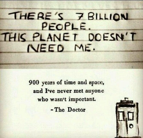 doctor who inspirational quotes - 8005897472