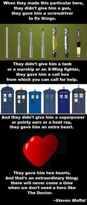 doctor who,Steven Moffat,quotes
