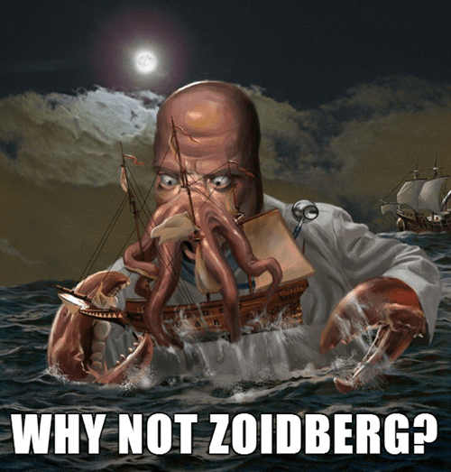futurama Fan Art why not zoidberg - 8005930752
