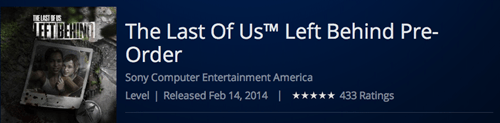 DLC,left behind,the last of us,Video Game Coverage