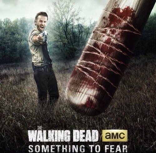comics,Fan Art,Rick Grimes,The Walking Dead,something to fear