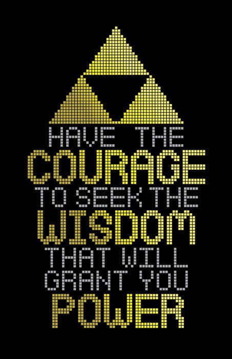 zelda triforce motivationals - 8006000640