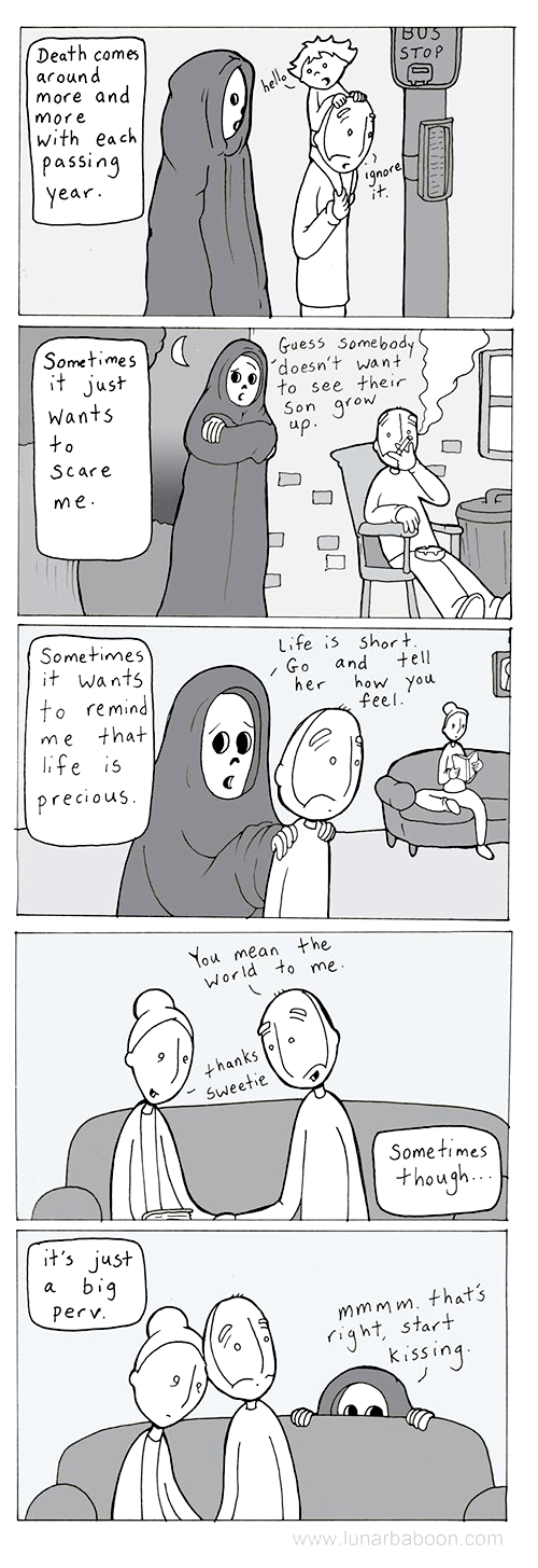 Death,web comics