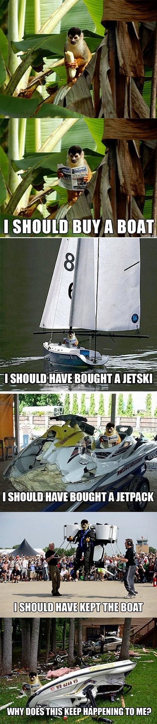 life banana Memes story monkey funny - 8006084608