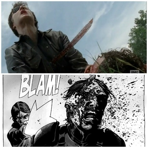 comic books off the page the governor walking dead comics - 8006353920