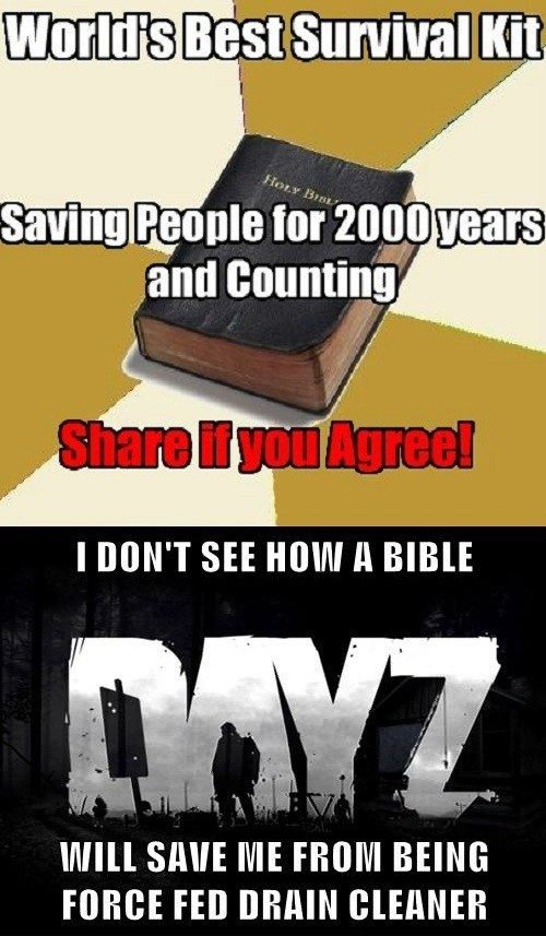 dayz standalone religion the bible super funny philly video games