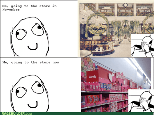 shopping facepalm holidays