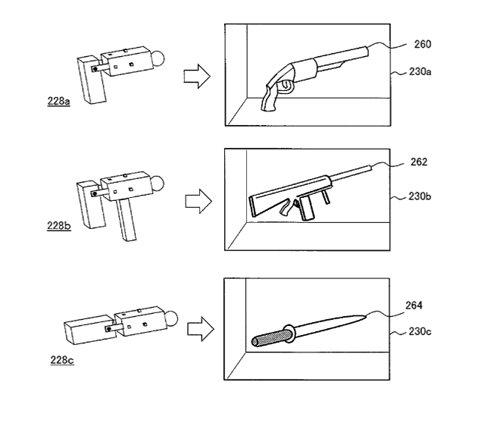 Sony Patents controllers Video Game Coverage - 8007244288