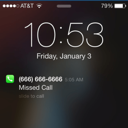 number of the beast missed calls AutocoWrecks - 8007327488
